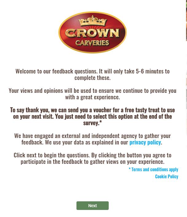Crown Carveries Pub www.crowncarveries-survey.co.uk