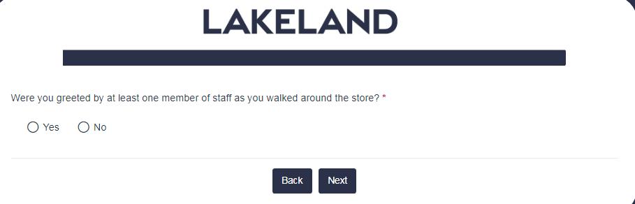 Lakeland survey 1