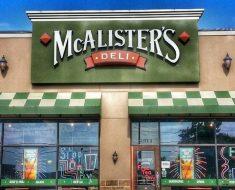 McAlisters Deli Survey