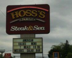 hoss's steak & sea survey