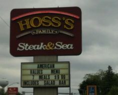 hoss's steak & sea survey