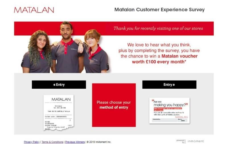 www.matalan-survey.co.uk