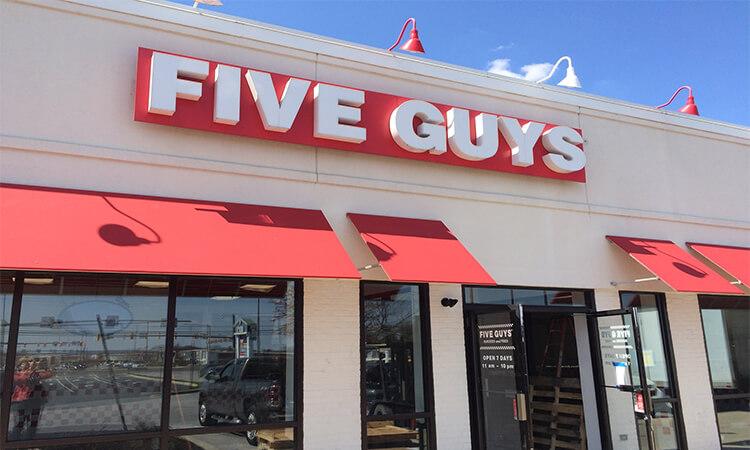 five guys survey